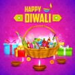 Happy Diwali Background — Stock Vector #54484573