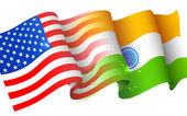 India-America relationship — Stock Vector