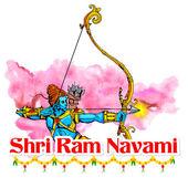 Ram Navami — Stock Vector
