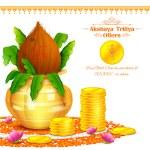 Akshay Tritiya celebration — Stock Vector #69906939