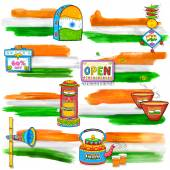 India banner for sale and promotion — Stock Vector