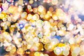 Festive elegant abstract background with bokeh lights and stars Texture — Foto de Stock