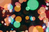 Festive elegant abstract background with bokeh lights and stars Texture — Stock Photo