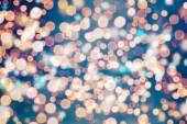 Festive elegant abstract background with bokeh lights and stars Textureokeh lights and stars Texture — Stock Photo