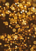 Abstract background with bokeh defocused lights and stars — Stock Photo