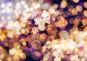 Elegant abstract background with bokeh defocused lights — Stock Photo