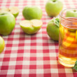 Fresh apple and juice — Stock Photo #51810279