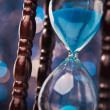 Closeup of hourglass — Stock Photo #59686123