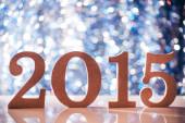 2015 figures — Stock Photo