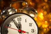 5 minutes before new year 2015 — Stock Photo