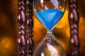 Hourglass clock — Stock Photo