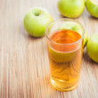 Fresh apple juice — Stock Photo #61005461