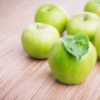 Fresh green apples — Stock Photo #61005513