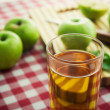 Glass fresh apple — Stock Photo #61005563
