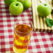 Fresh apple juice — Stock Photo #61005611