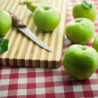 Organic green apples — Stock Photo #61005723