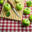 Delicious grenn apples — Stock Photo #61005895