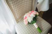 Wedding bouquet flowers — Stock Photo