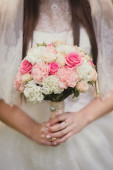 Beauty wedding bouquet — Stock Photo