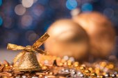 Closeup of christmas bell  — Stock Photo