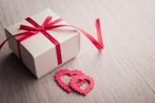 Jewelry gift box — Stock Photo