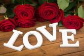 Valentine Day background — Stock Photo