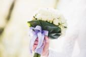 Closeup of Wedding bouquet — Stock Photo