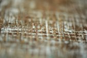 Brown striped wood grain, selective focus — Stock Photo