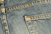 Blue jeans zak. — Stockfoto
