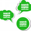 Search engine optimization. Set of stickers, labels, tags. Business banners, Template for infographics — Stock Photo #55326387