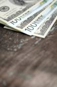 Two leading hard currencies - US Dollar and Euro — Stock Photo