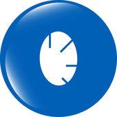 Icona del segno di uovo di pasqua. simbolo di tradizione di pasqua — Foto Stock