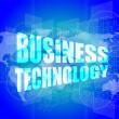 Management concept: business technology words on digital screen — Stock Photo #57479059