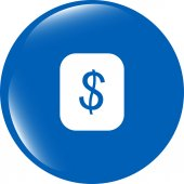 Currency exchange sign icon. Currency converter symbol. Money label. — Stock Photo