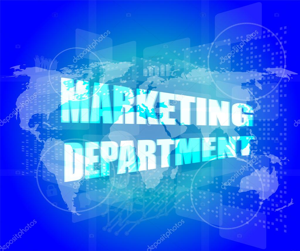 """marketing and department Marketing personnel in companies that manufacture industrial goods often complain about the activities and attitudes of their manufacturing counterparts with laments such as: """"why can't they become market-oriented or customer-oriented"""" """"why are they so provincial""""."""