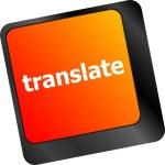 Translate button on keyboard keys — Stock Photo #57948501