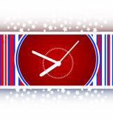 Clock icon web button sign vector — Stock Vector