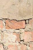 Old grunge brick wall background — Stock Photo