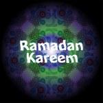 Ramadan Kareem beautiful greeting card — Stock Photo #77333106