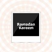 De sultan van elf maanden Ramadan wenskaart. Heilige maand van Moslim Gemeenschap — 图库照片
