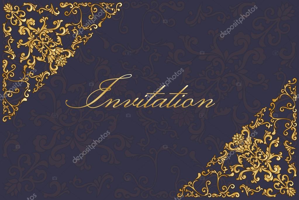 шаблон пригласительный билет на свадьбу