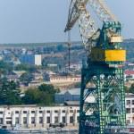 Offshore crane — Stock Photo #53513393