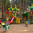 Playground in the forest — Stock Photo #66272007