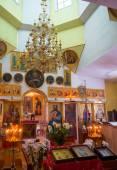 L'intérieur de l'église du village — Photo
