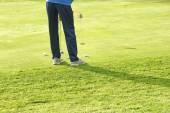 Pole golfowe w Montseny — Zdjęcie stockowe