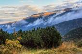 Sunset in the Polish Tatras — Stock Photo