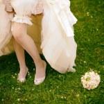 Wedding Accessories Brides — Stock Photo #62740113