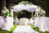 Miejsce ślubu — Zdjęcie stockowe