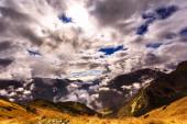 Clouds in autumn Tatras — Stock Photo