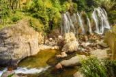 Beautiful Tien Sa water fall in Sapa,Vietnam. — Stock Photo